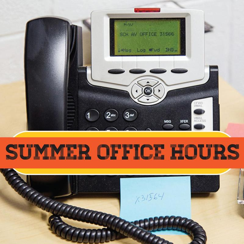 Office Summer Hours Featured Photo