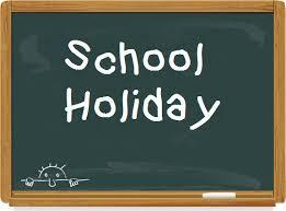 Monday, September 24th SCHOOL HOLIDAY Featured Photo
