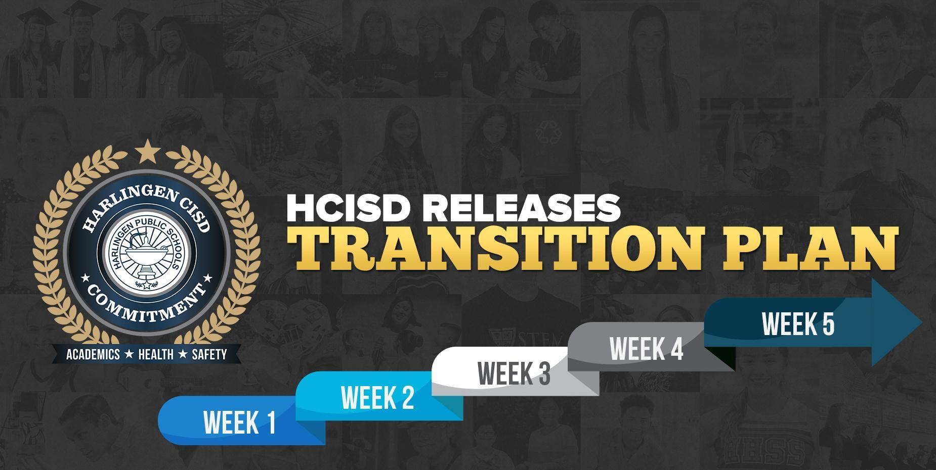 HCISD RELEASES TRANSITION PLAN