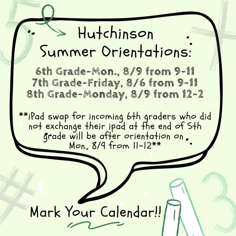 Mark Your Calendar!! Summer Orientation!! Featured Photo