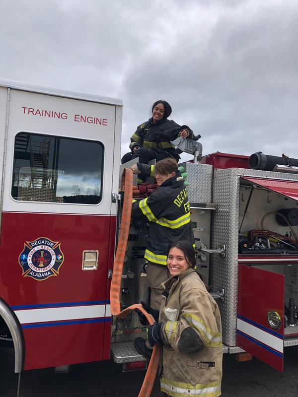 Fire Academy Students Featured Photo