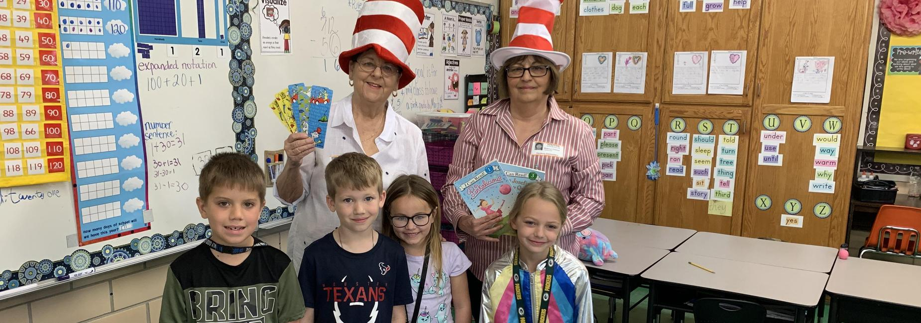 Dr. Seuss readers