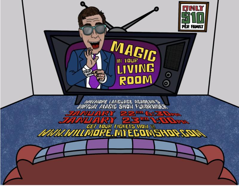 Virtual Magic Show Fundraiser