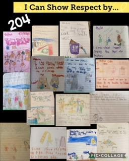 Room 204's respect drawings