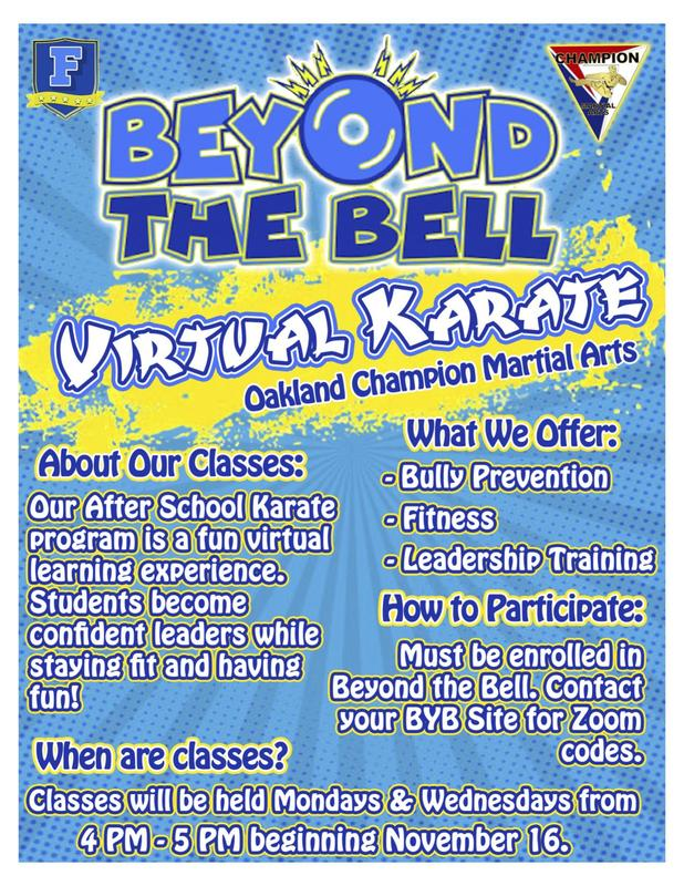 BeYond the Bell Offers Karate! Thumbnail Image