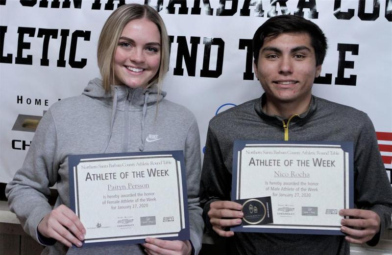 Nico Rocha Named Athlete of the Week Featured Photo