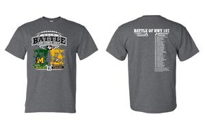 Battle of 107 t-shirts