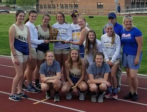 Girls Track WestPAC Champions 2019