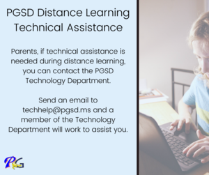 PGSD Distance Learning Technical Assistance