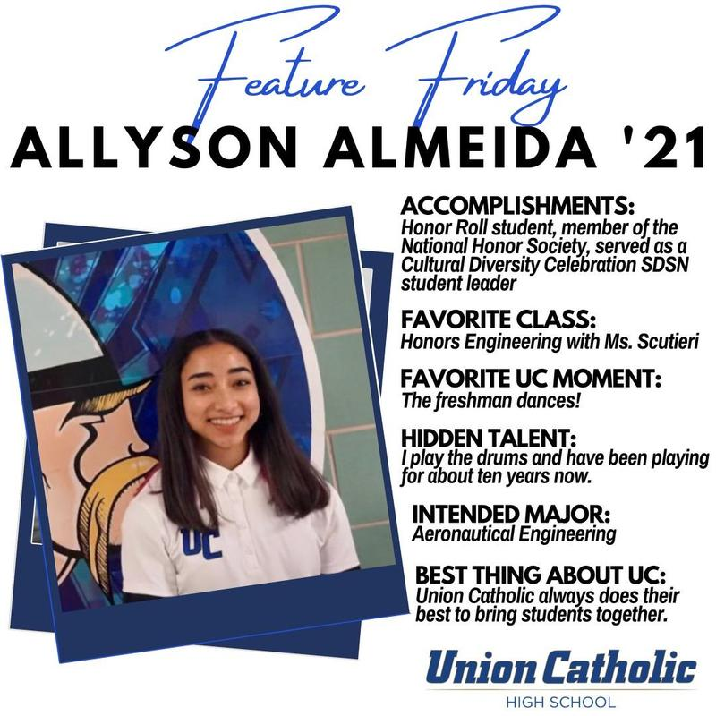 Allyson Almeida has made a huge impact at Union Catholic Thumbnail Image