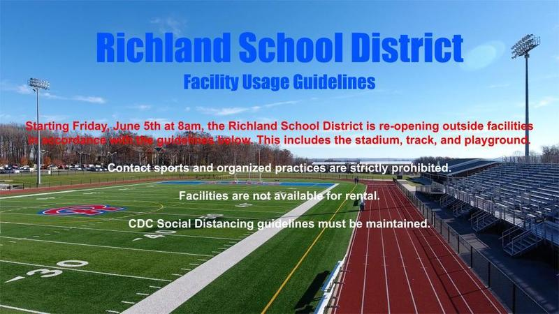 RSD Stadium, Track, and Playground to Re-Open on Friday, June 5th at 8am Featured Photo