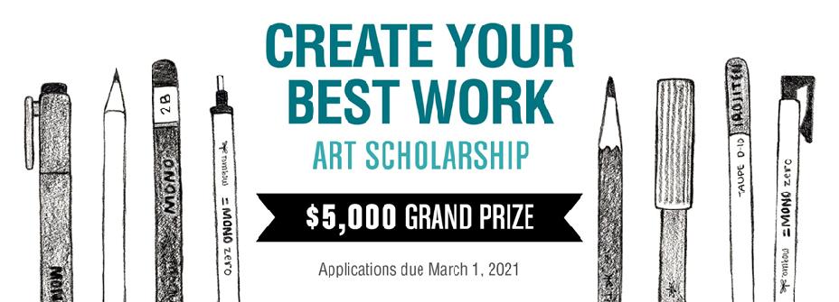Tombow Art Scholarship image