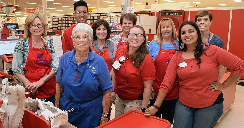 Assistance League teams with Target Associates for LEUSD's first 'dressing event' of 2019.