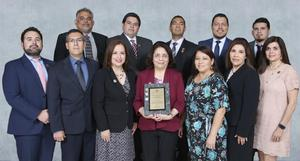 Edinburg CISD Finance Department receives national Financial Reporting Achievement Award.