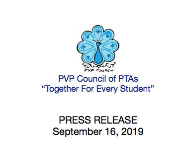 PVPUSD Council PTA Costume Closet Press Release Thumbnail Image