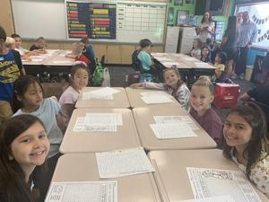 First Day of School at Fairmont Elementary