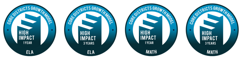 Alta California ES is recognized as 1 for 24 schools throughout the District for 3 consecutive years of high growth in both ELA and Math Thumbnail Image