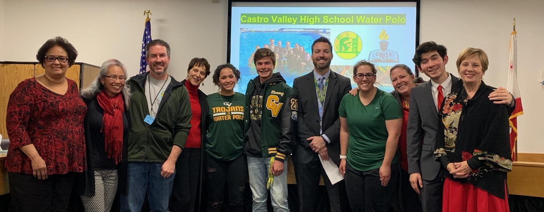 Board adopts water polo