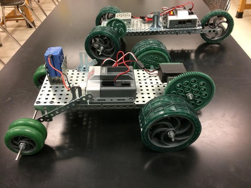robotic drag racer