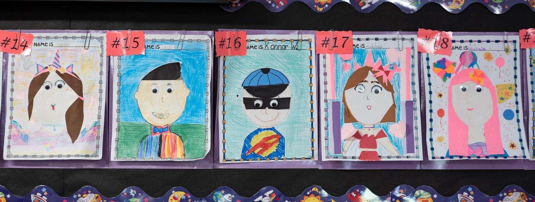 Baldwin Student Self Art Project