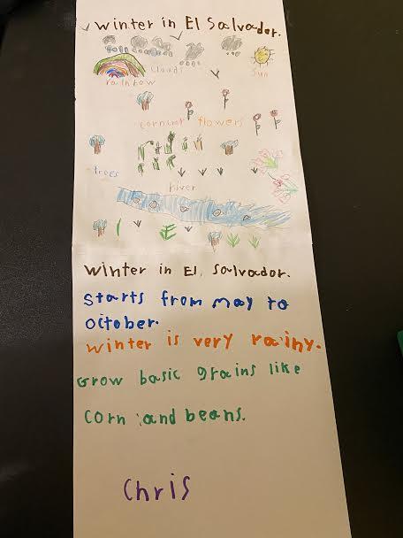 Winters in El Salvador write up