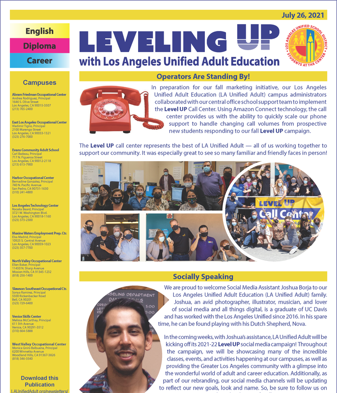 July 26, 2021 Newsletter Thumbnail