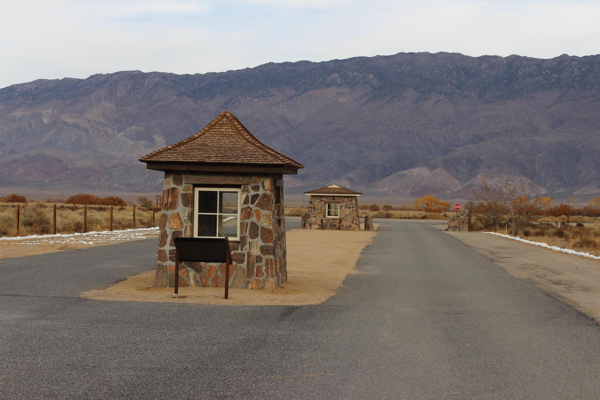 Manzanar Guard House