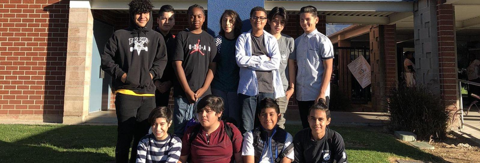 Harrison Students at Young Men's Conference -The YMC is set out to educate, inspire and establish a positive change in the young men across Pomona Unified! Shoutout to Mrs. Castellanos for being an awesome counselor!