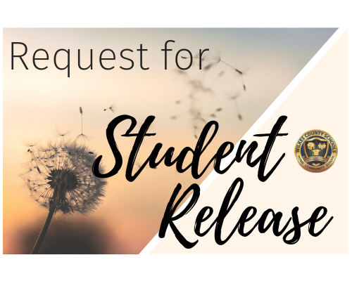 Request for Student Release