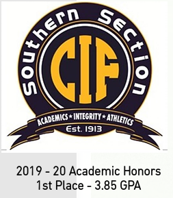 CIF-SS Academic Honors
