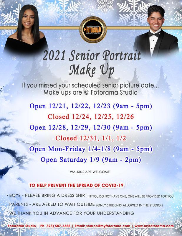 2021 Senior Portrait Make Up Featured Photo