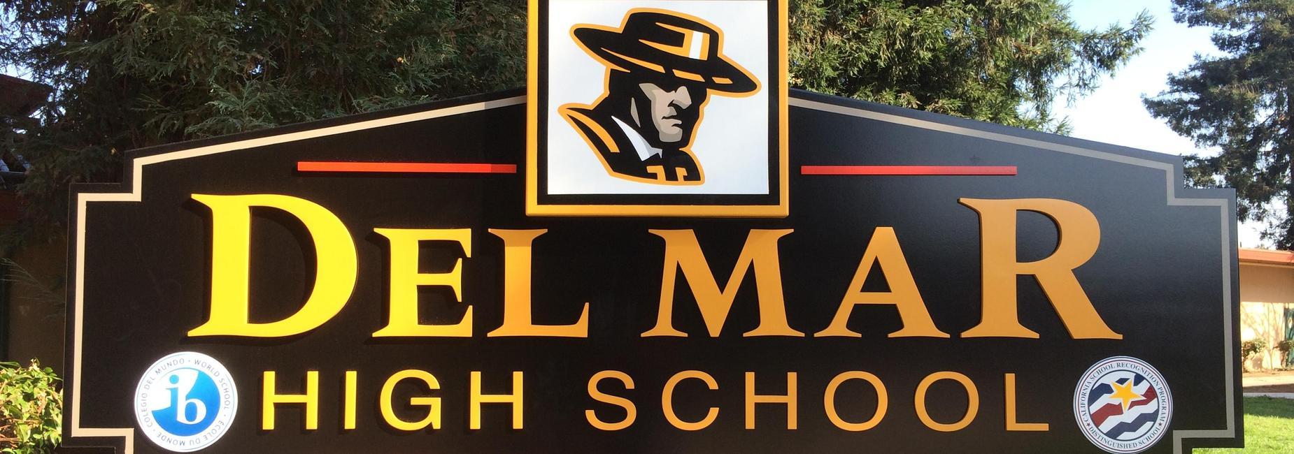 Image of Del Mar High School Sign