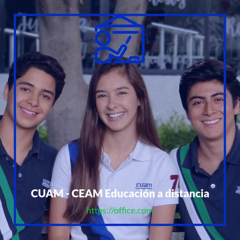 CUAM - CEAM Educación a distancia