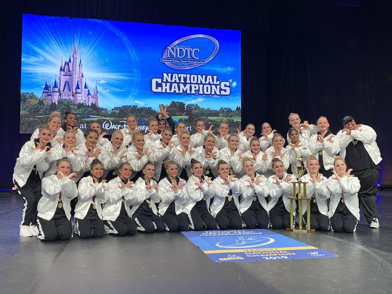 CHS Dance Team is the Large Varsity Hip Hop National Champion Featured Photo