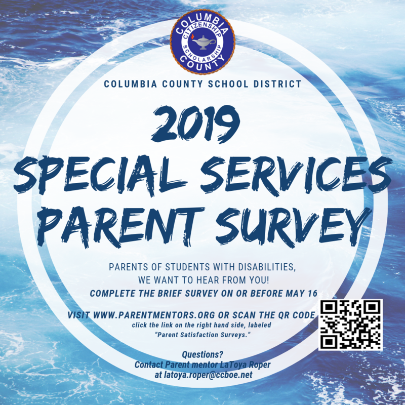 Special Surveys parent survey.