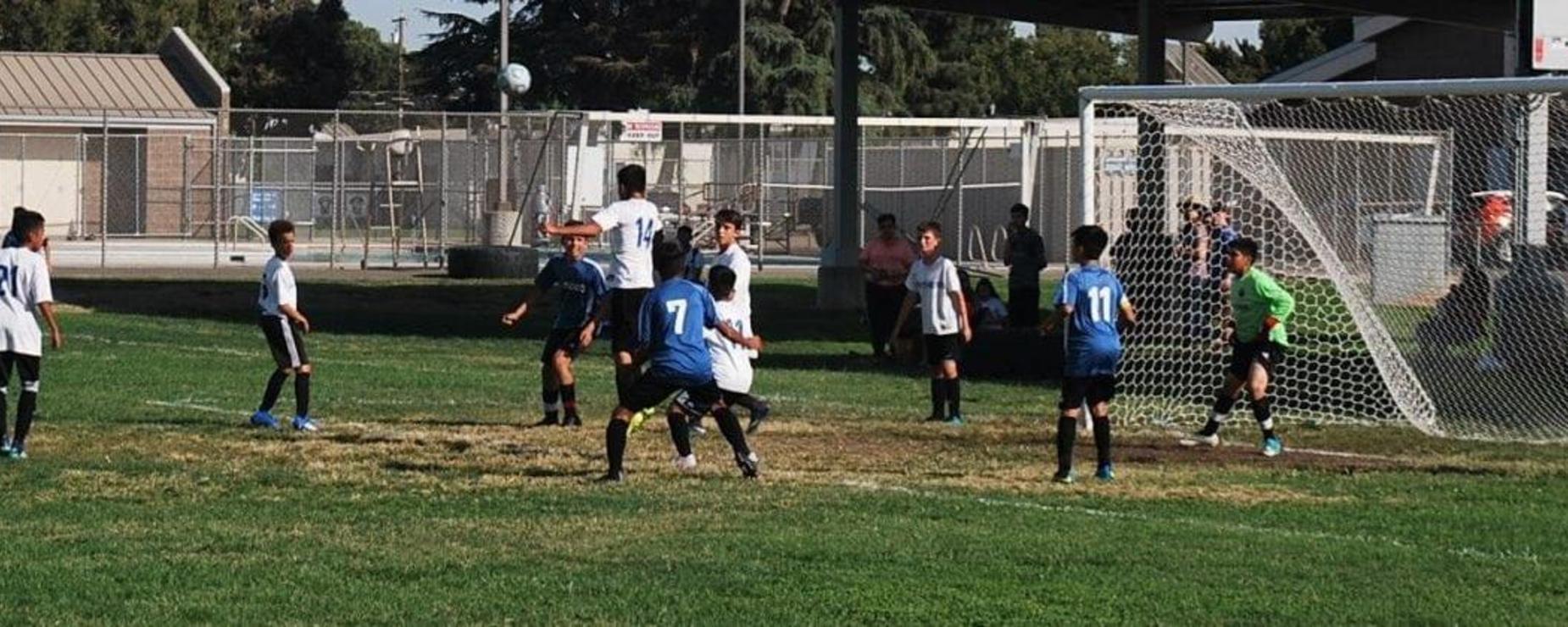 student soccer