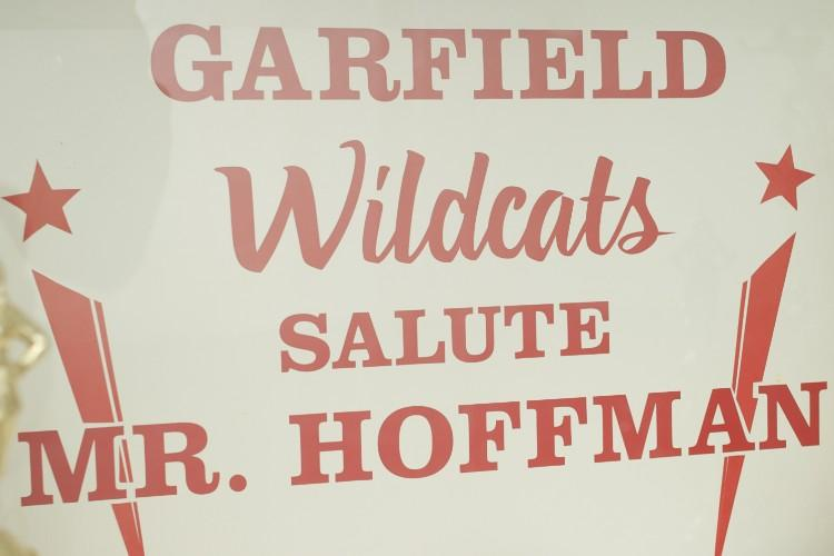 """Garfield School Salute Mr. Hoffman"""