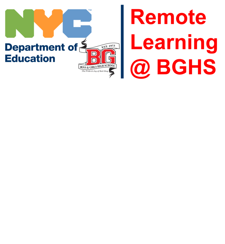 NYCDOE BGHS Remote Learning