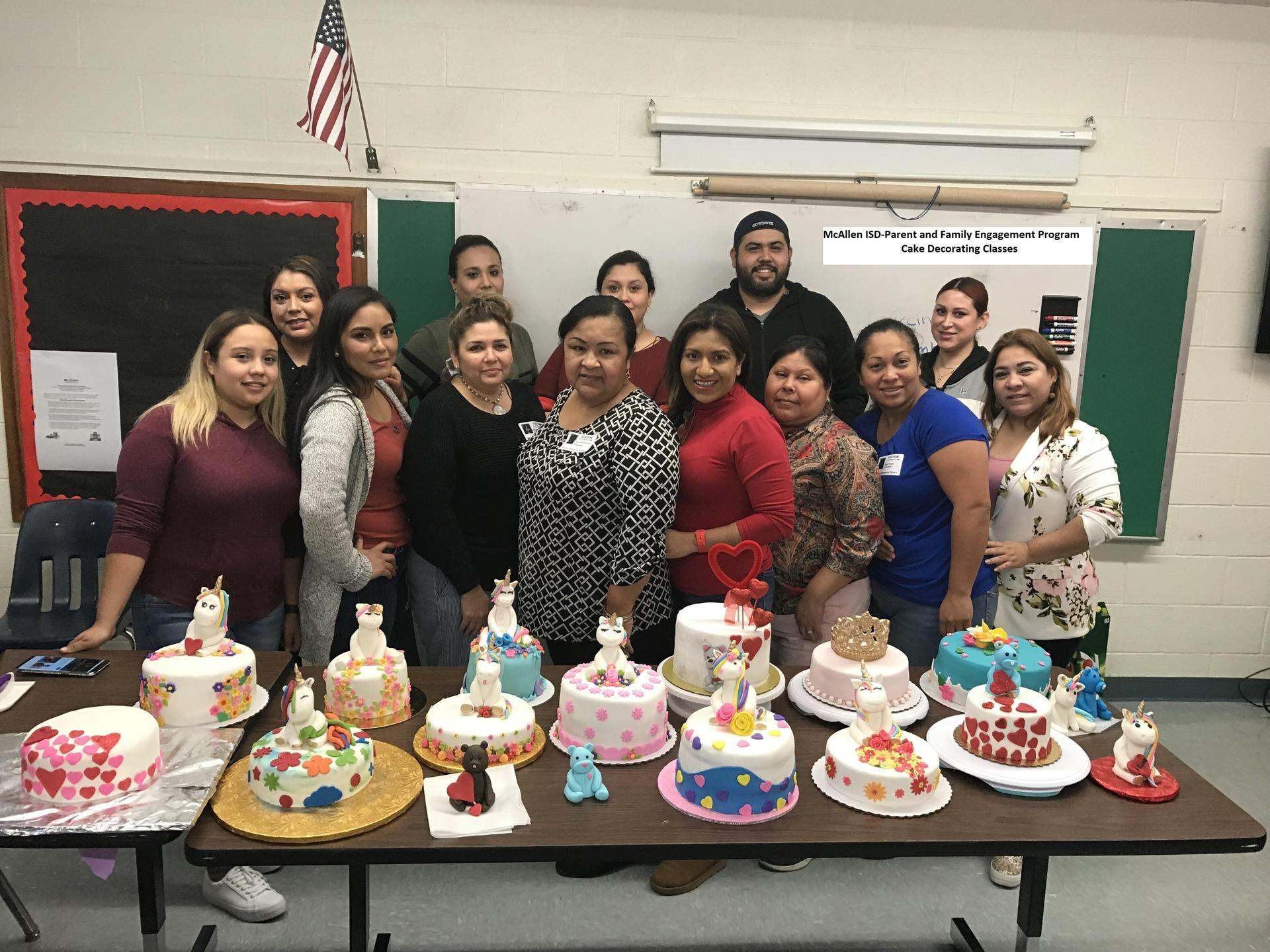 Cake Decorating Classes