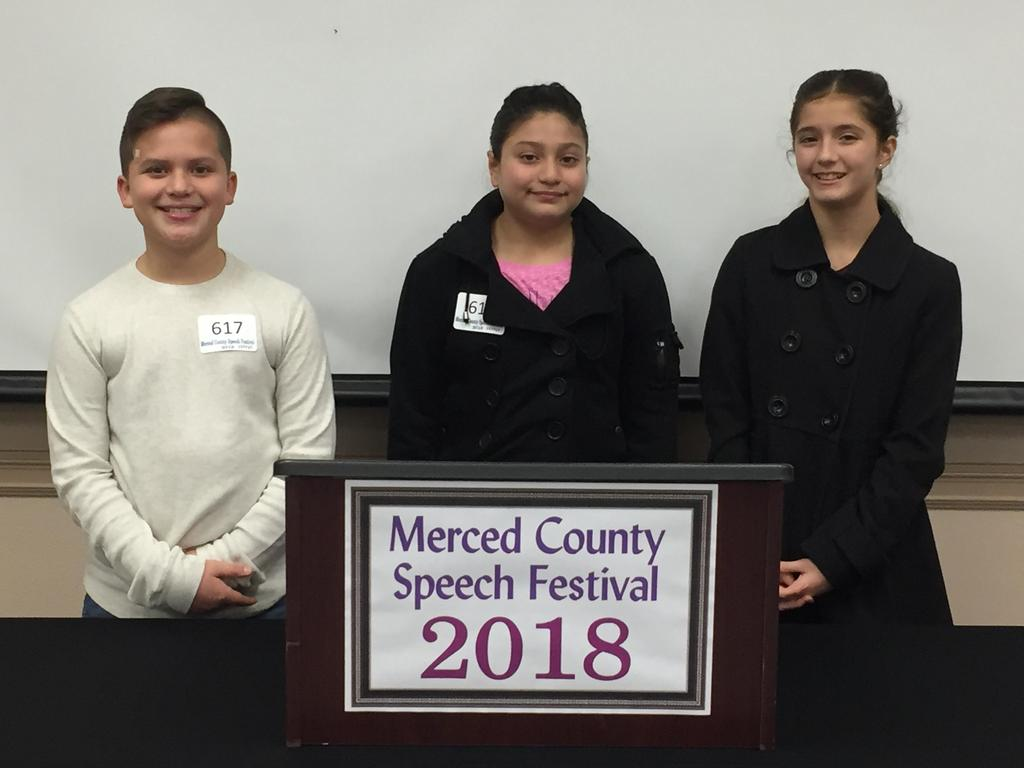 Speech Festival Participants