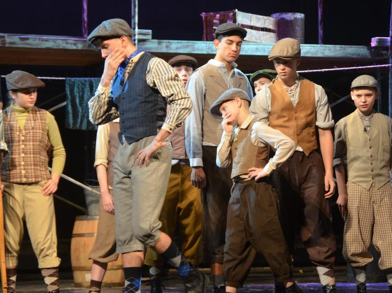 Pope John Players unite with PJMS, Reverend Brown students to perform 'Newsies: The Musical' Thumbnail Image