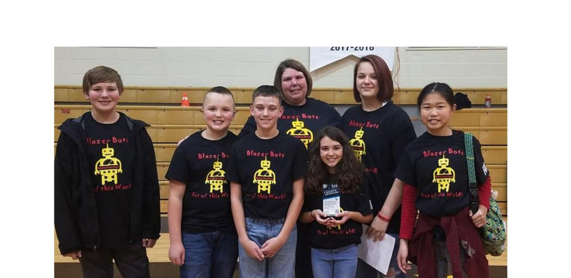 Nolachuckey robotics team photo