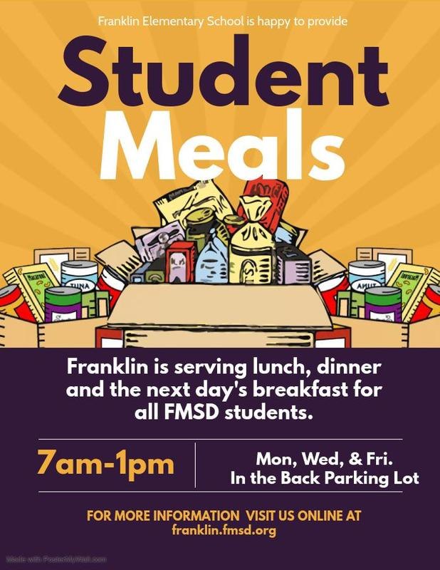 Student Meals Available