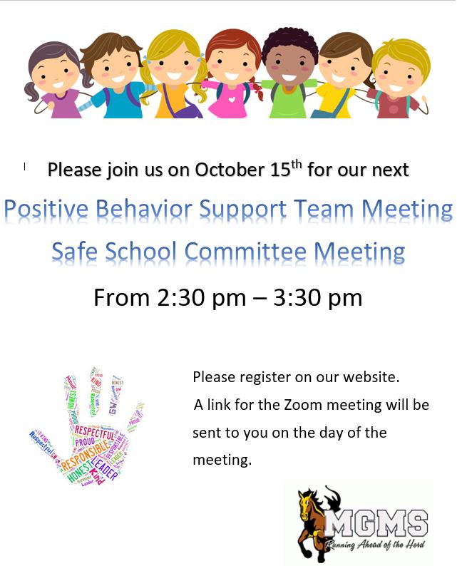 Positive Behavior Support Team Meeting