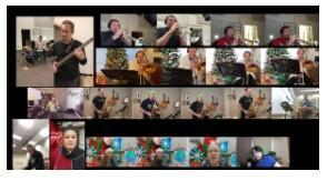 Cheney's Middle Schools and High School music staff want to wish everyone Happy Holidays and Happy New Year! Thumbnail Image