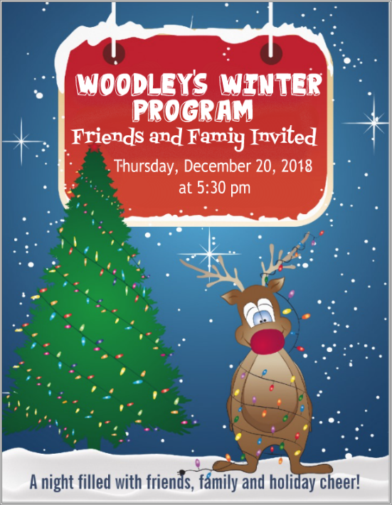 Woodley's Winter Program Featured Photo