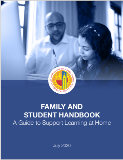 2020-2021 Family and Student Handbook: A Guide to Support Learning at Home Thumbnail Image