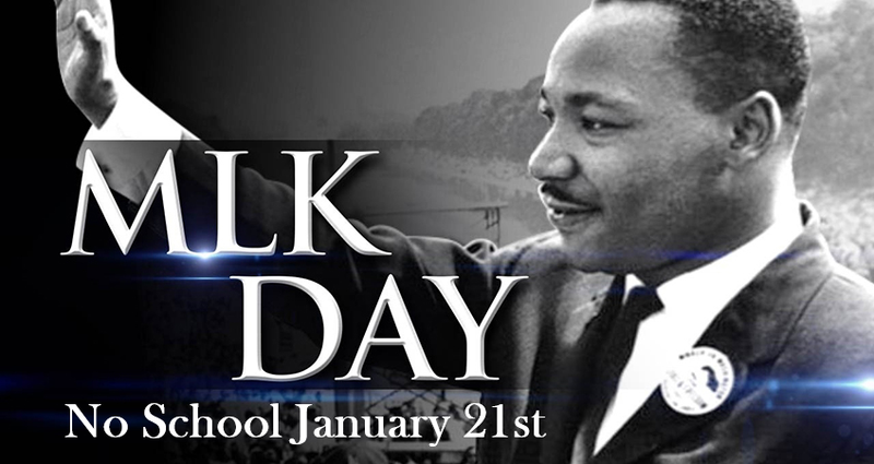 No School in Observance of Martin Luther King Jr. Day Featured Photo