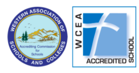 A WCEA and WASC Accredited School