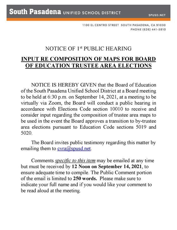 Public Hearing Notice Featured Photo
